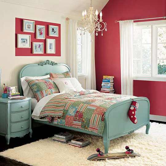Turquoise Red Bedroom Decorating Ideas: The Fancy Shack Ideas